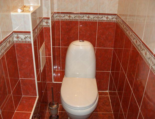 Дизайны туалетов в квартирах