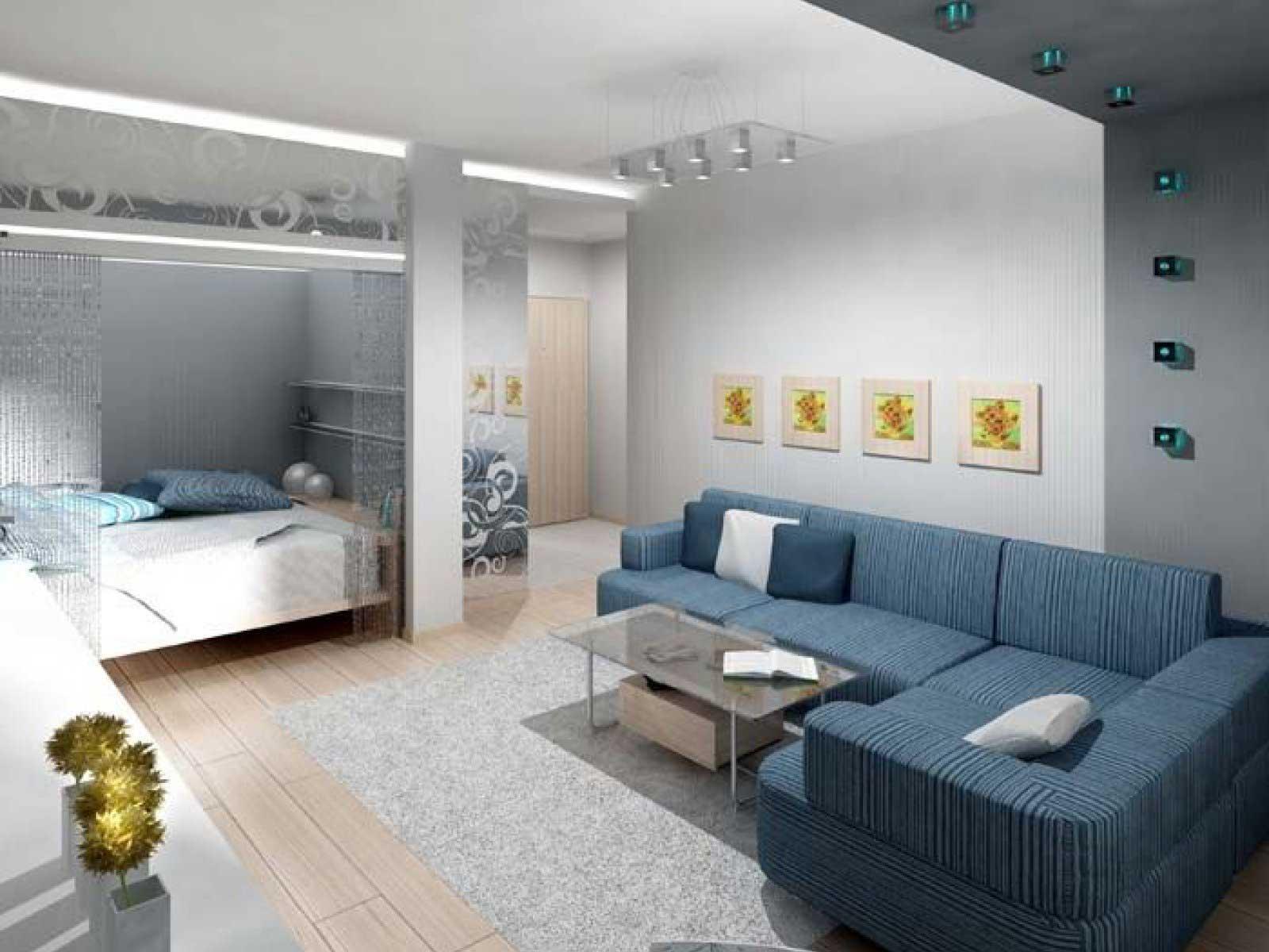 Интерьер фото квартир однокомнатных