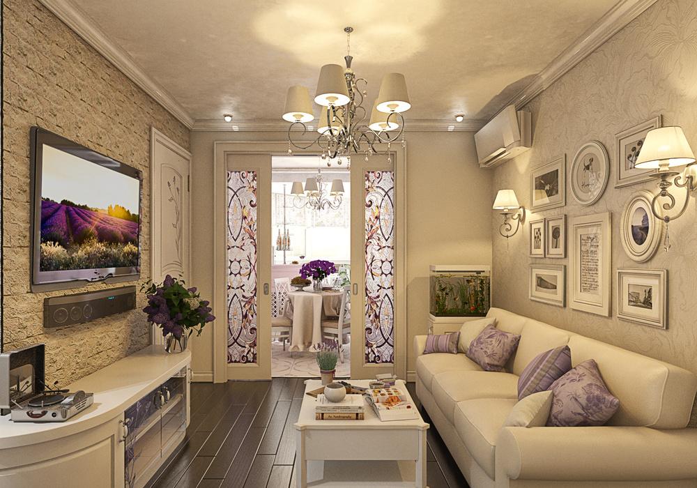 Прованс стиль в дизайне квартиры