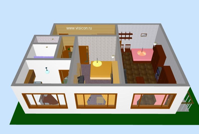 Как создать свой дом в 3д