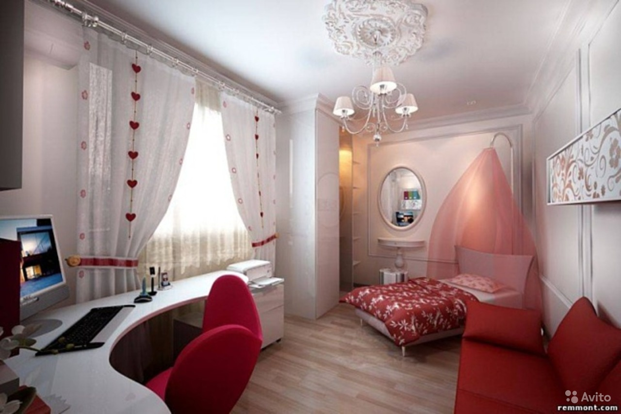 Дизайнерские фото комнат для девушек