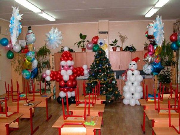 Как украшать класс к новому году