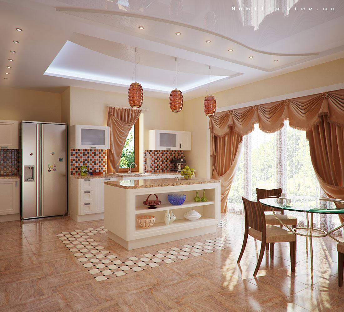 Фото интерьеров частных домов внутри
