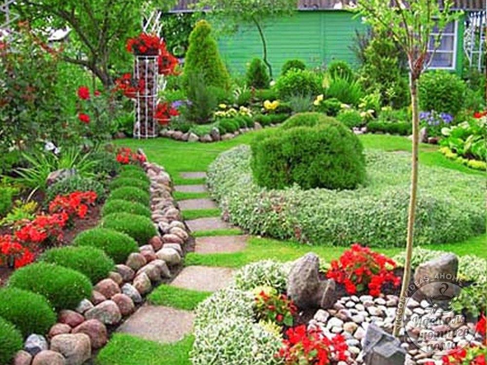 Ландшафтный дизайн загородного дома своими руками фото фото 202