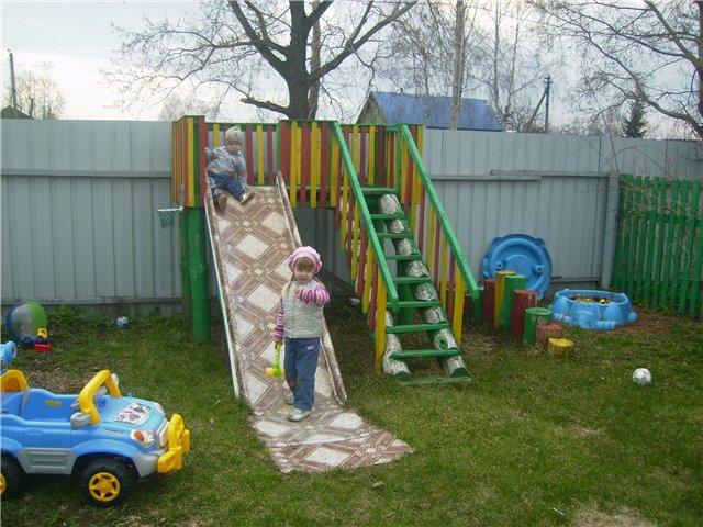 Постройки на детскую площадку своими руками