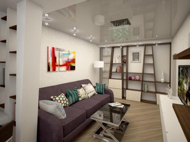 Интерьер 2-х комнатной квартиры в панельном доме фото