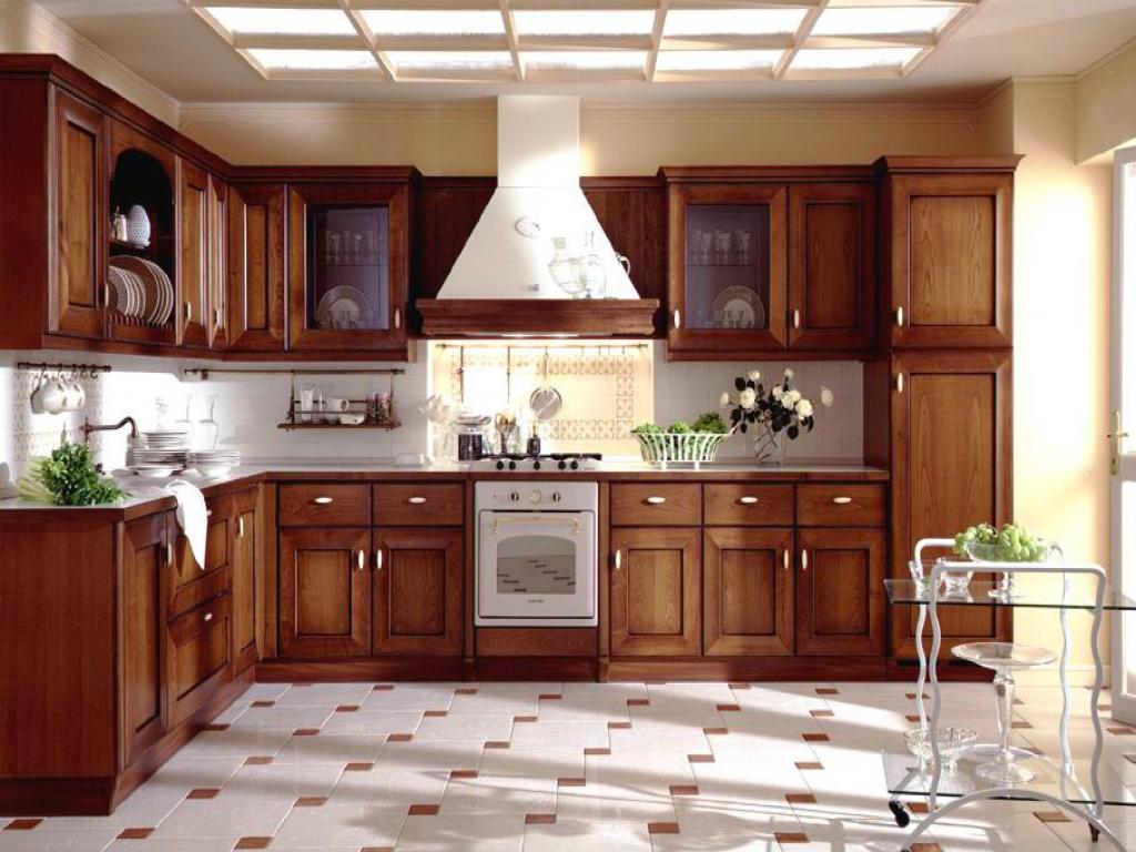 Фото дизайн кухонь из дерева