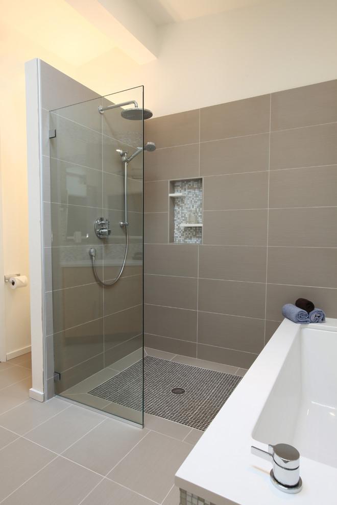 Душевая ванная комната дизайн