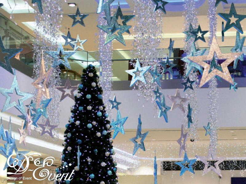 Украшения для торгового зала своими руками к новому году