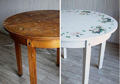 Реставрация раздвижного круглого стола своими руками 55