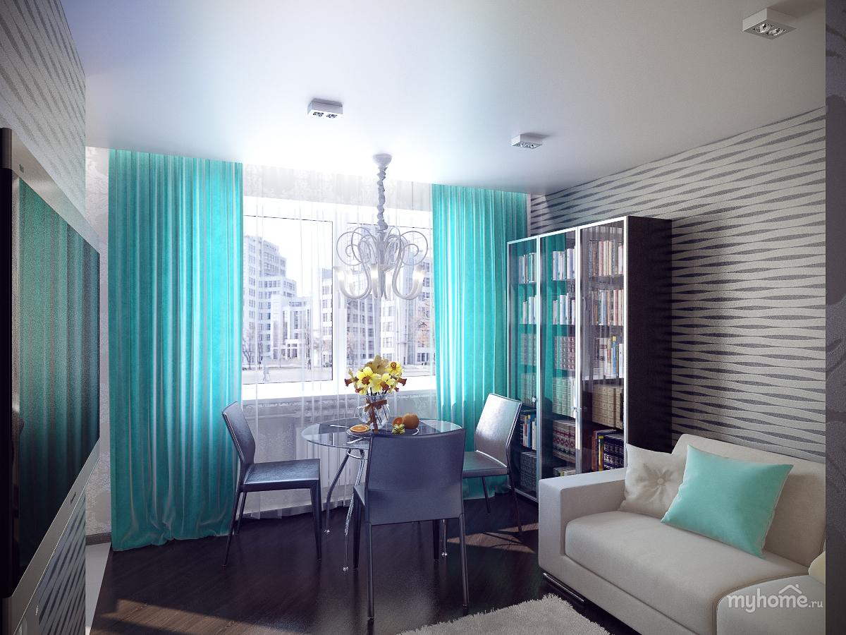Дизайн комнаты в хрущёвке
