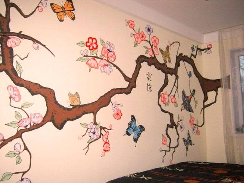 Как сделать рисунки на стену