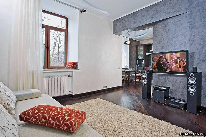 Интерьер однокомнатной квартиры хрущевки 30 кв.м фото