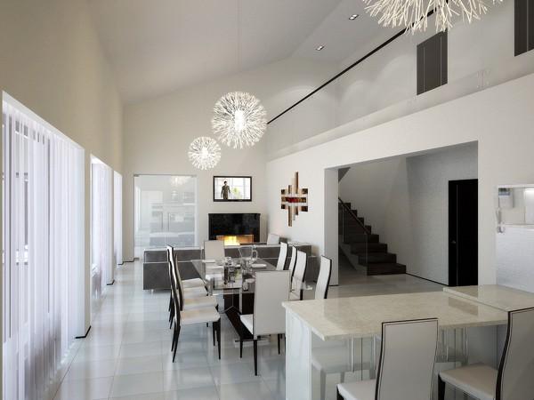 Дизайн дома стиле минимализм