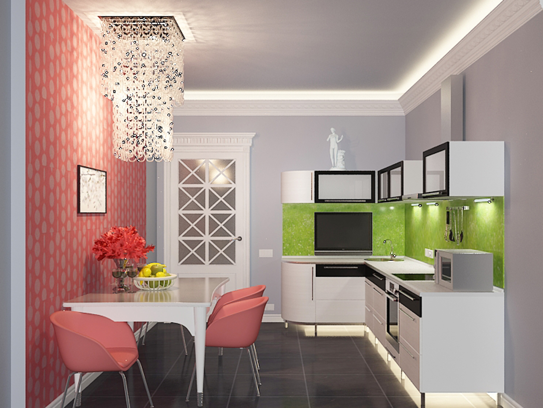 Дизайны кухонь квартир