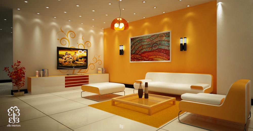 Интерьер стен покраска фото