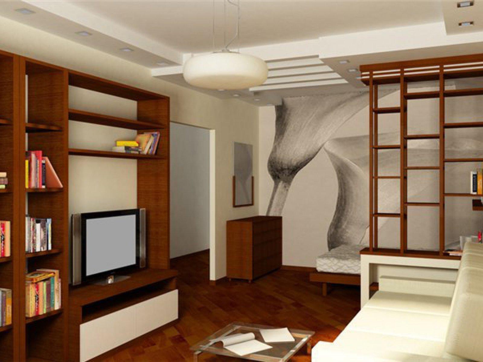 Дизайн интерьера маленькой двухкомнатной квартиры