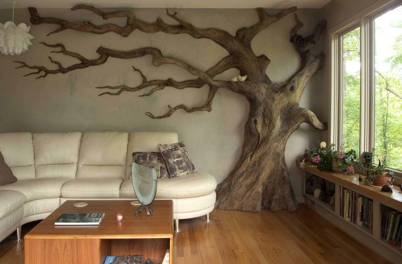 Фото интерьера стен своими руками