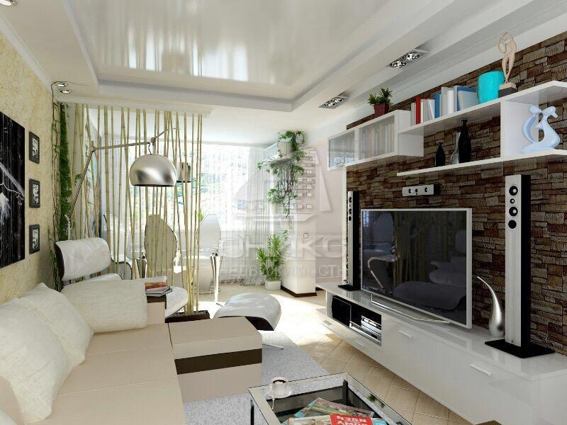 Дизайн гостинных хрущевок