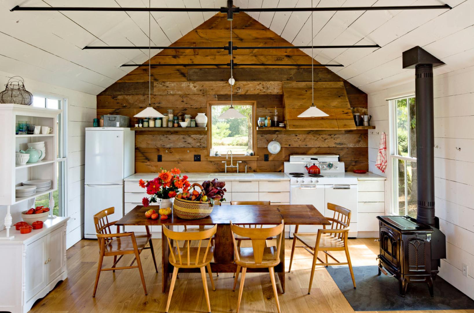 Внутренняя отделка деревенского дома своими руками фото