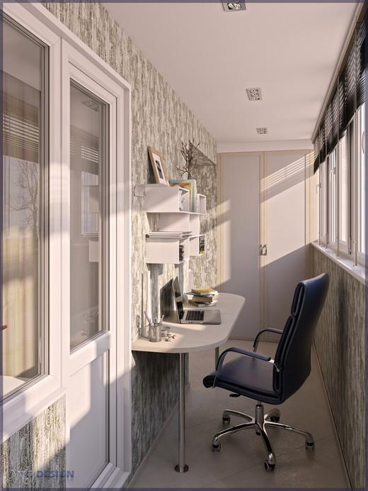 """Дизайн 3-х комнатной квартиры 60 м2 """" современный дизайн."""