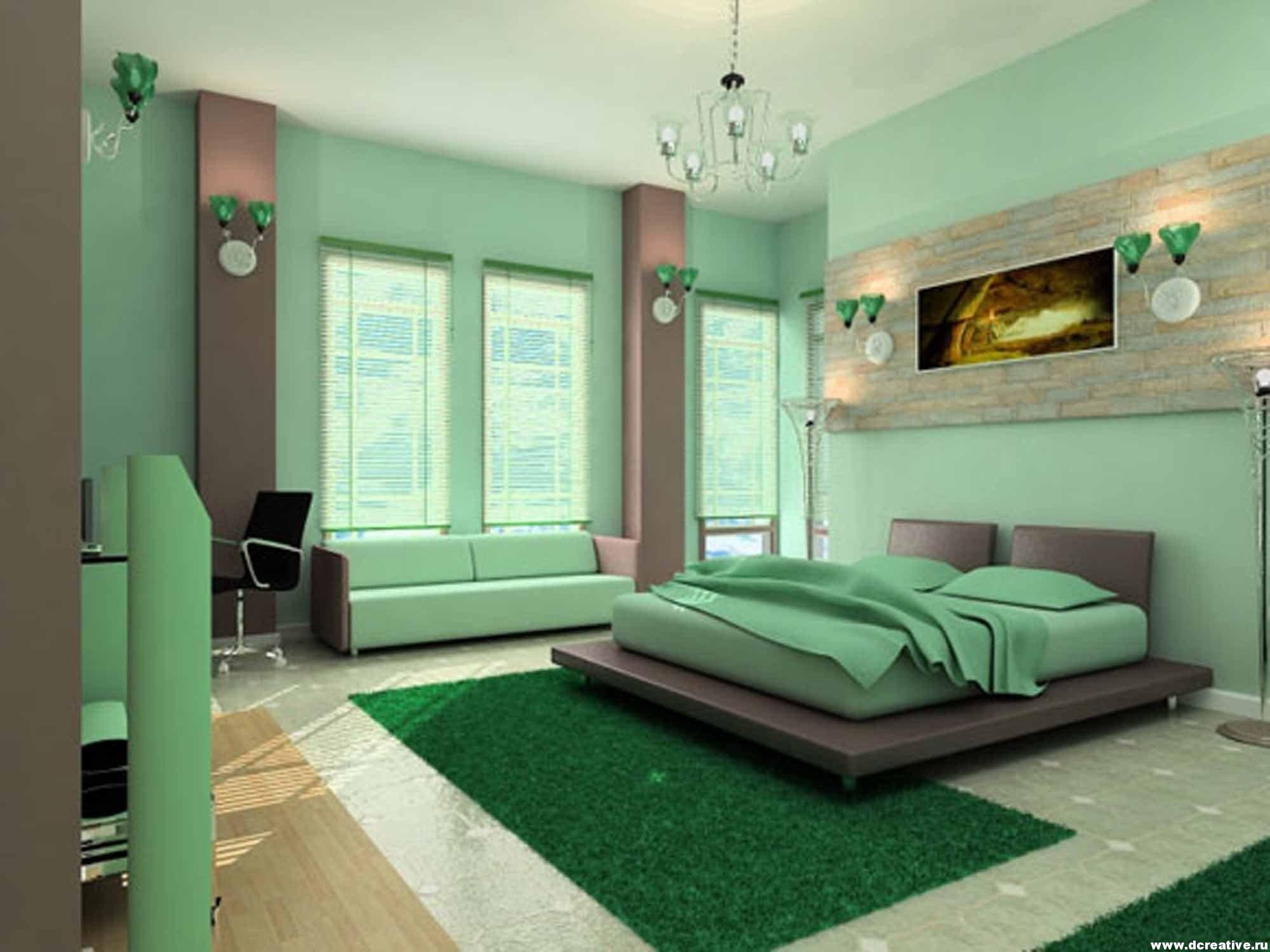 Дизайн цветовая гамма комнат
