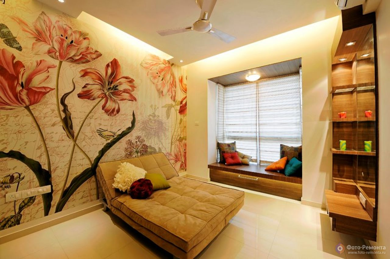 Дизайн комнат с обоими