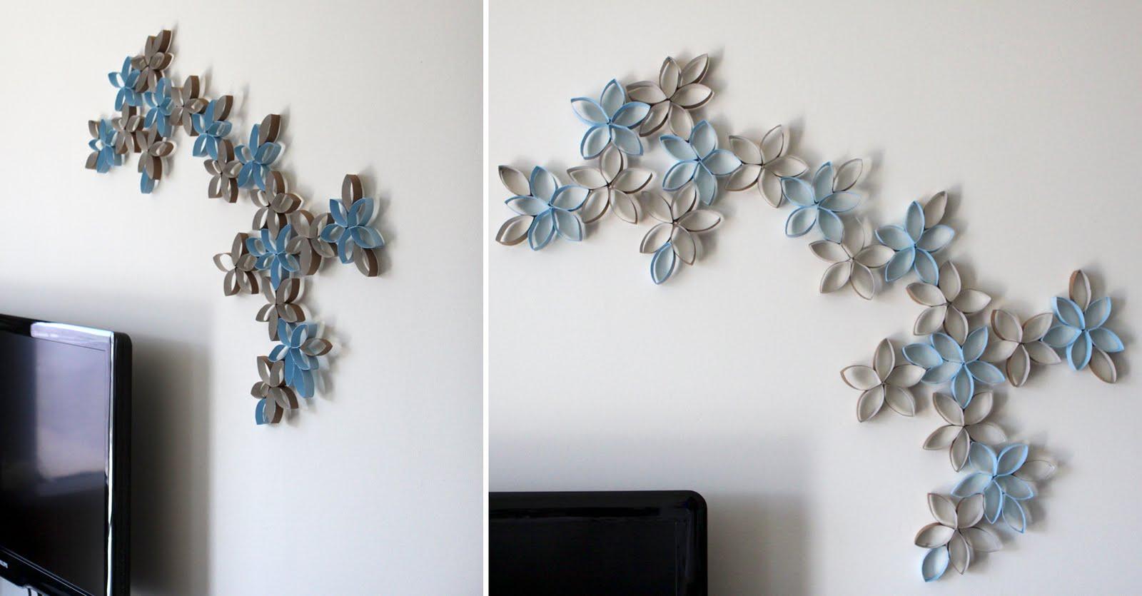 Как украсить стены в комнате своими руками