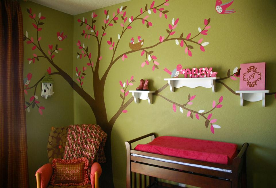 Как украсить стену в детском саду своими руками