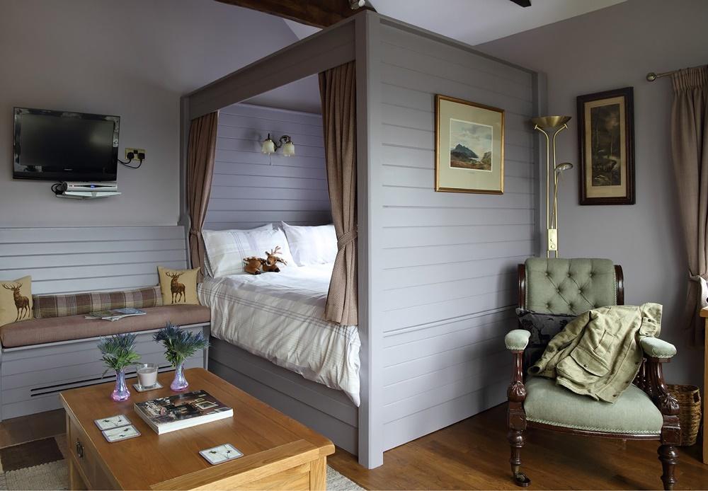 Фото интерьер дачных комнат