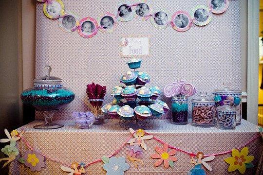 Украшение стола на день рождения ребенку 1 год своими руками
