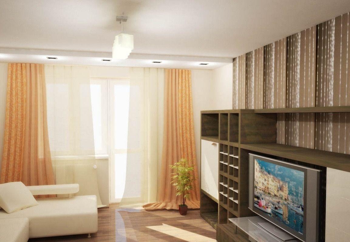 Дизайн в 2х комнатной квартире