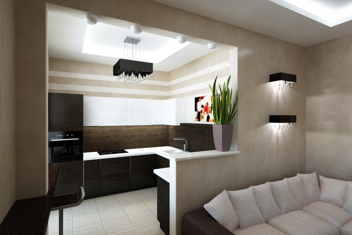 Фото дизайна 2 комнатной квартиры