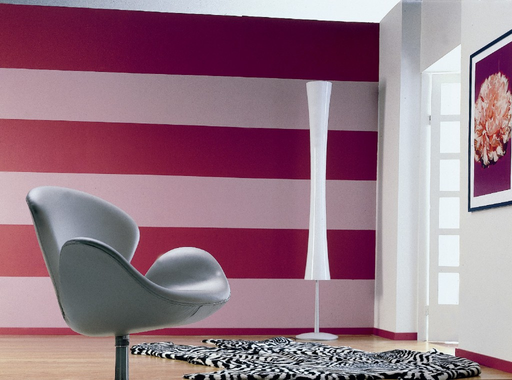 Дизайны покраски стен