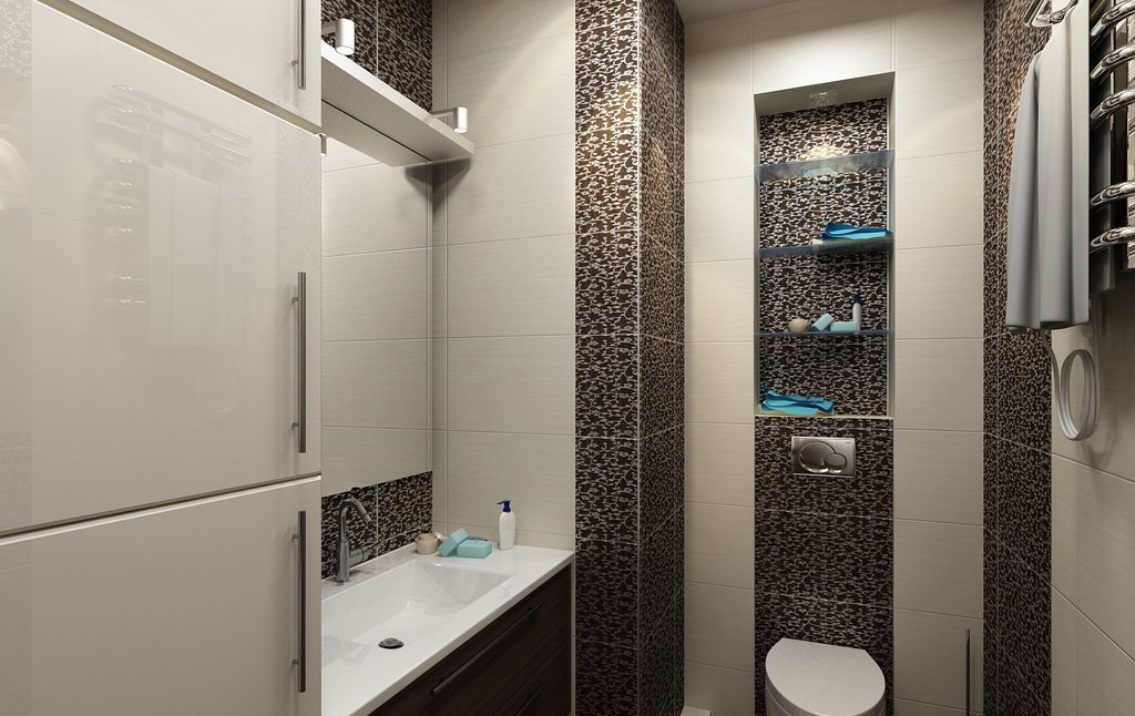 Дизайн туалета в квартире без ванной