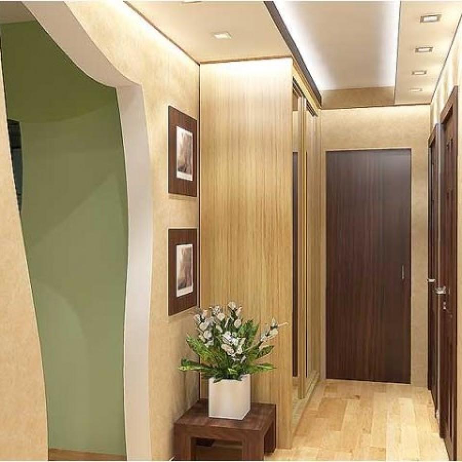 Фото дизайна узкого коридора в доме