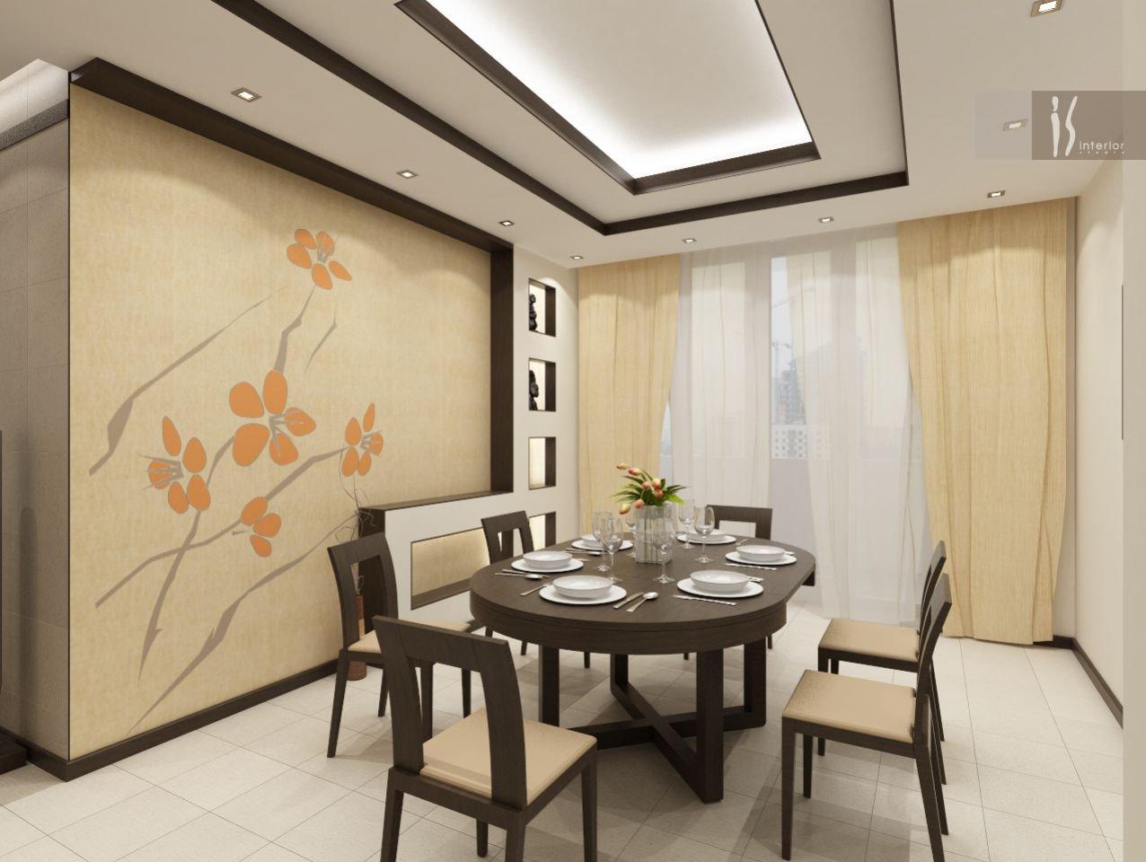 Кухня-столовая в квартире дизайн интерьер