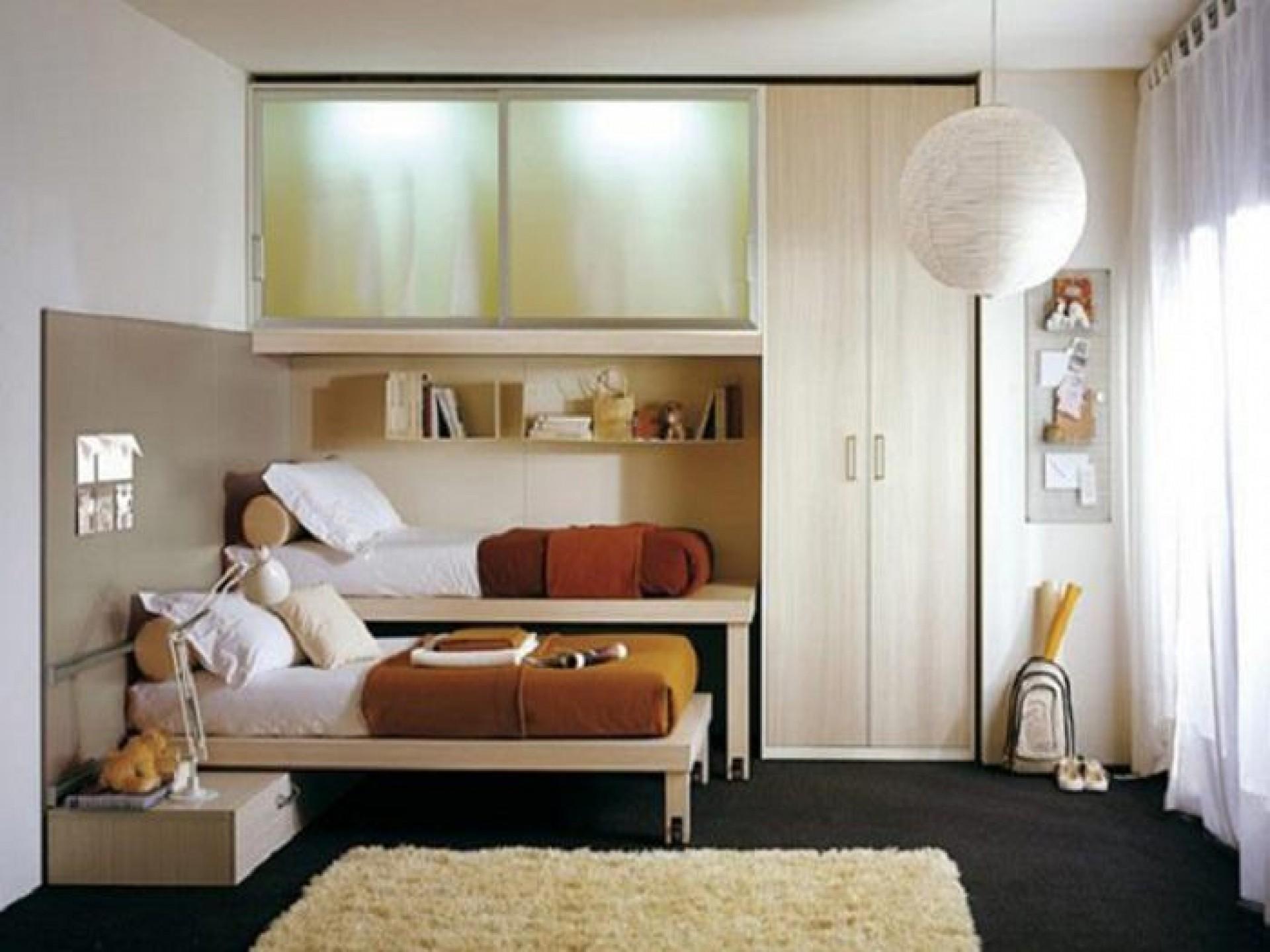 Дизайн спальни детской 9 квм