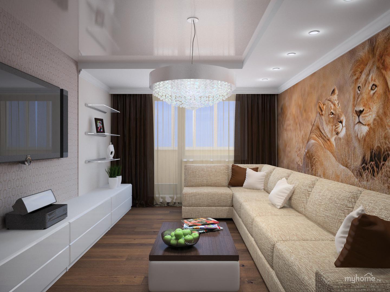 Дизайн проекты ремонта квартир фото