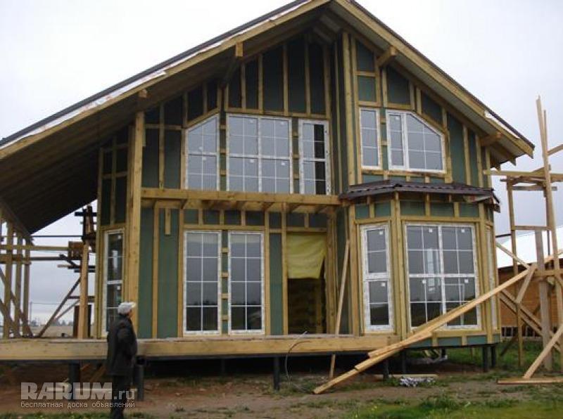 Строительство каркасных домов спб цены