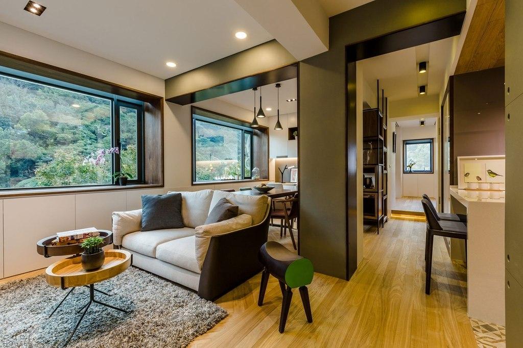 Дизайн проект квартиры уютная квартира