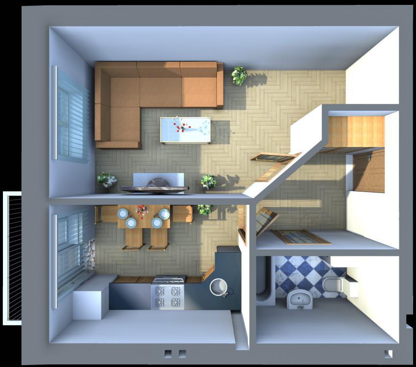 Как сделать дом 30 квадратов