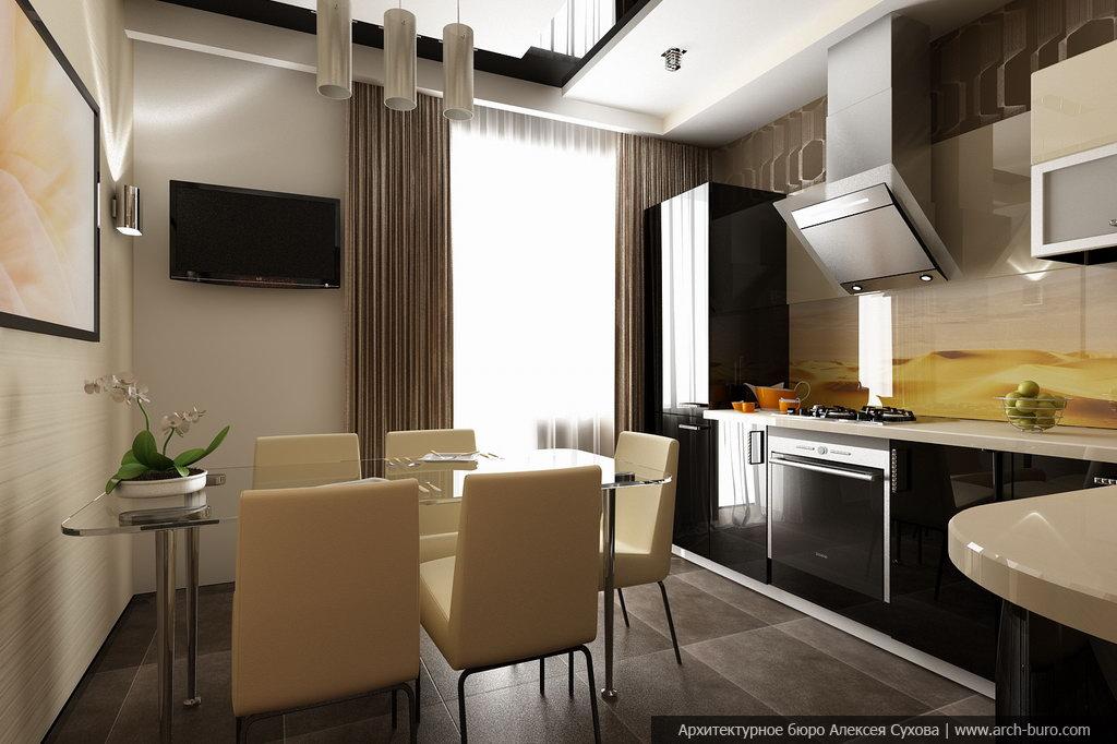 Фото кухни гостиной дизайн реальные