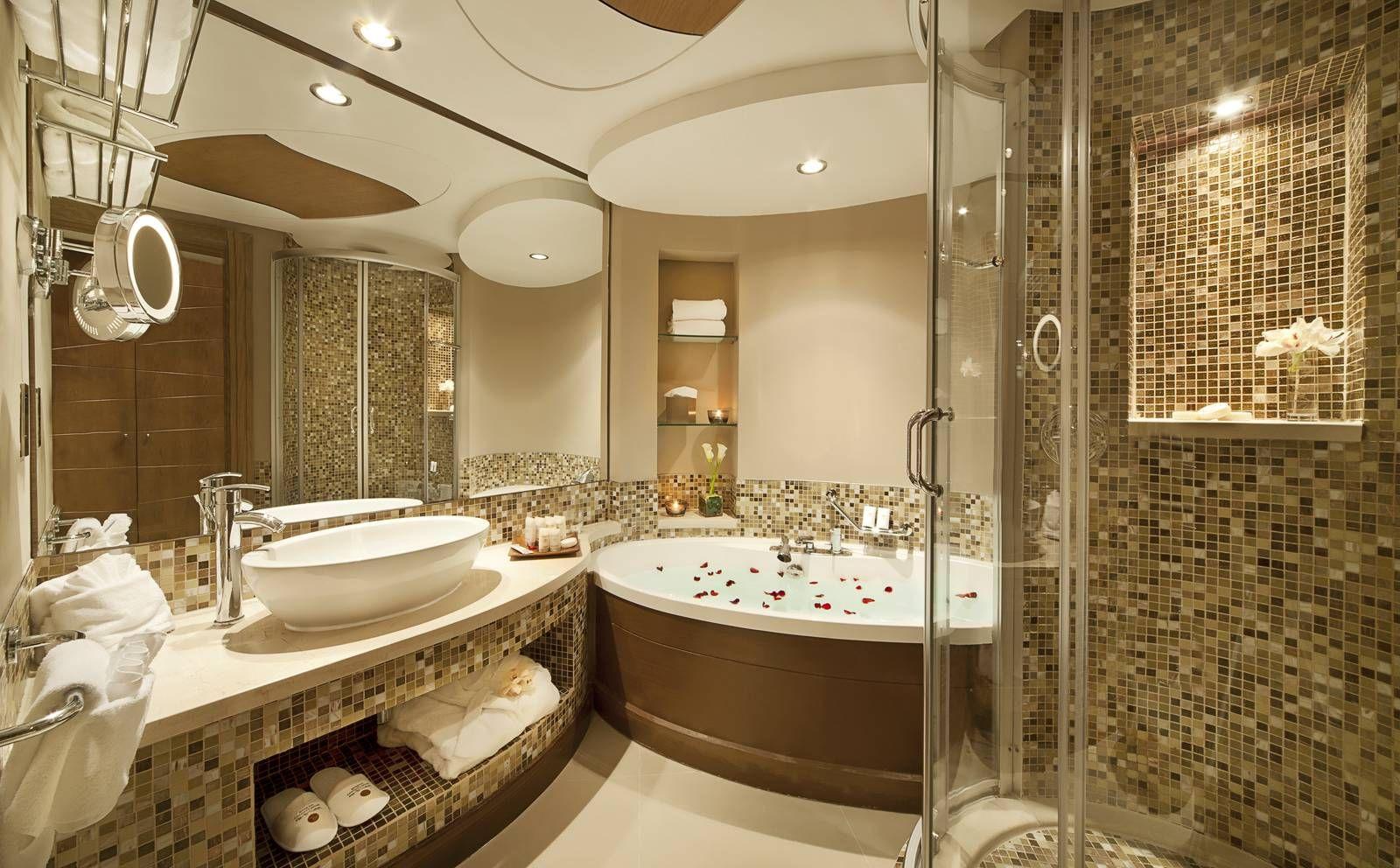 Самые модные дизайны ванной комнаты