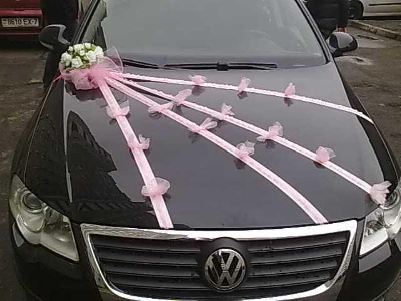 Ленты для украшения машины на свадьбу своими руками