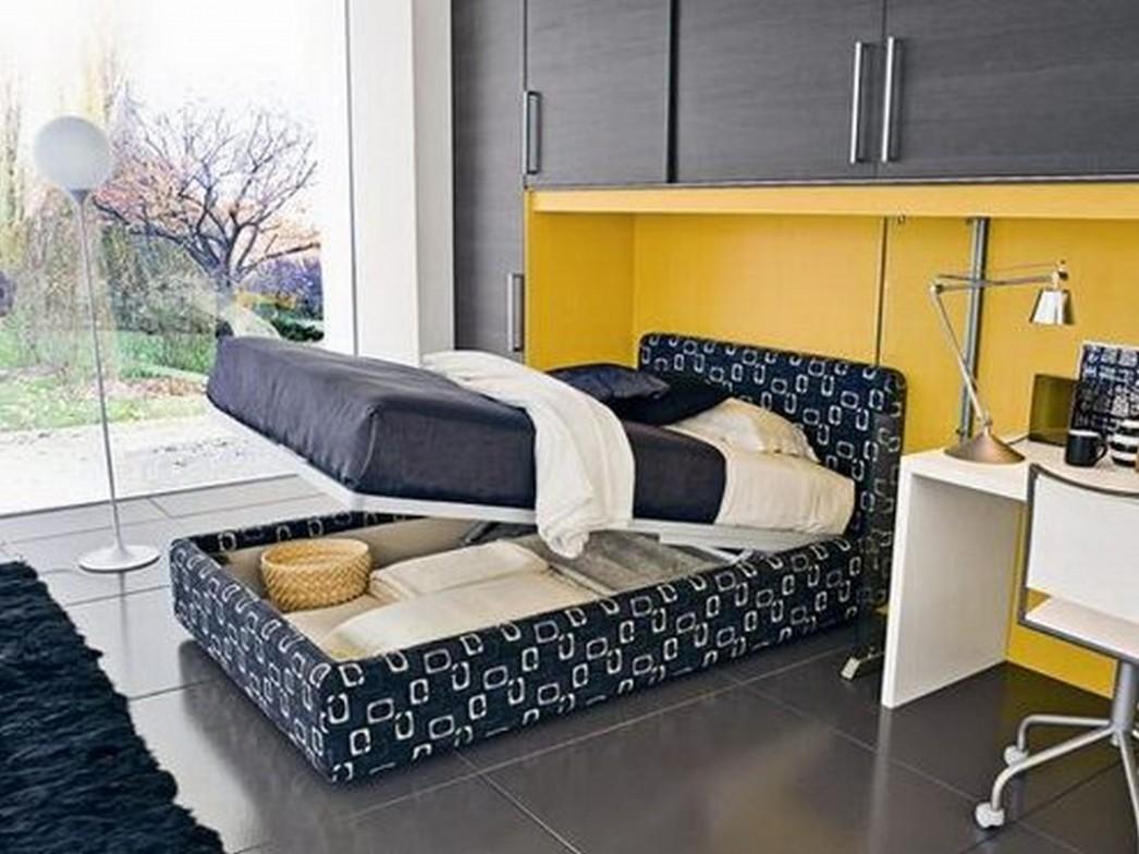 Маленькие спальни с диваном дизайн интерьера