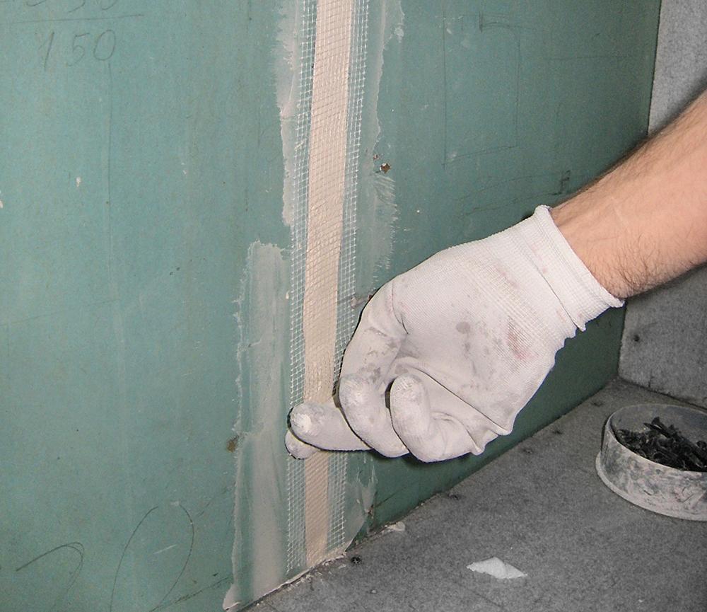 Шпаклюем стены из гипсокартона своими руками видео