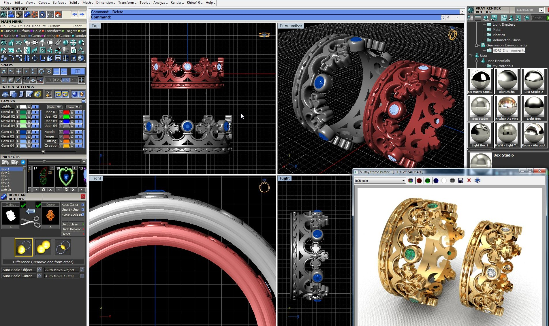 Программа 3d моделирования для ювелиров