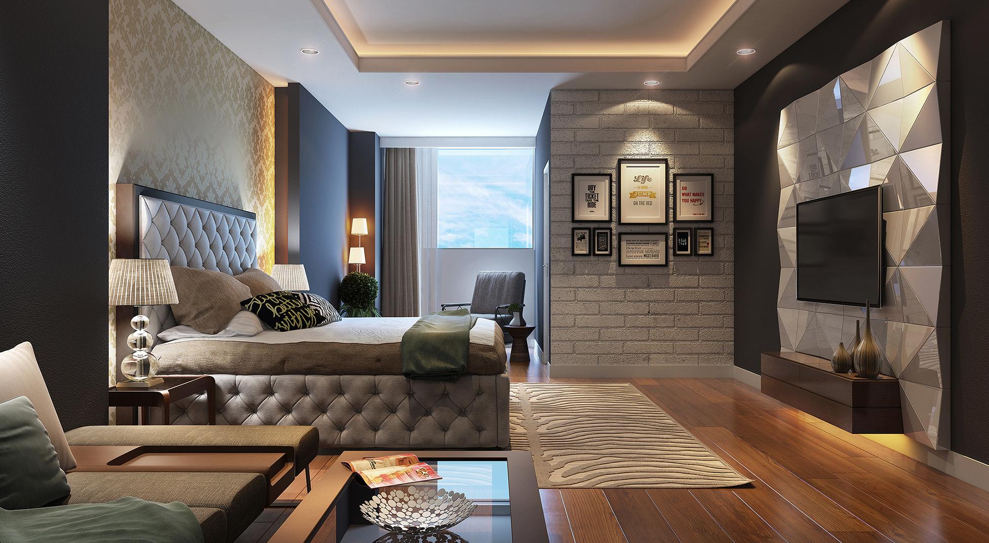 Современный интерьер квартиры фото 2016