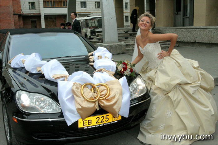 Свадебные цилиндры на машину своими руками фото 243